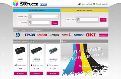 NEGOZIOCARTUCCE: Online Store