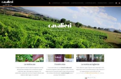 Cantina Cavalieri: Sito Corporate