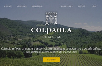 Cantina Colpaola: Sito Corporate E-commerce